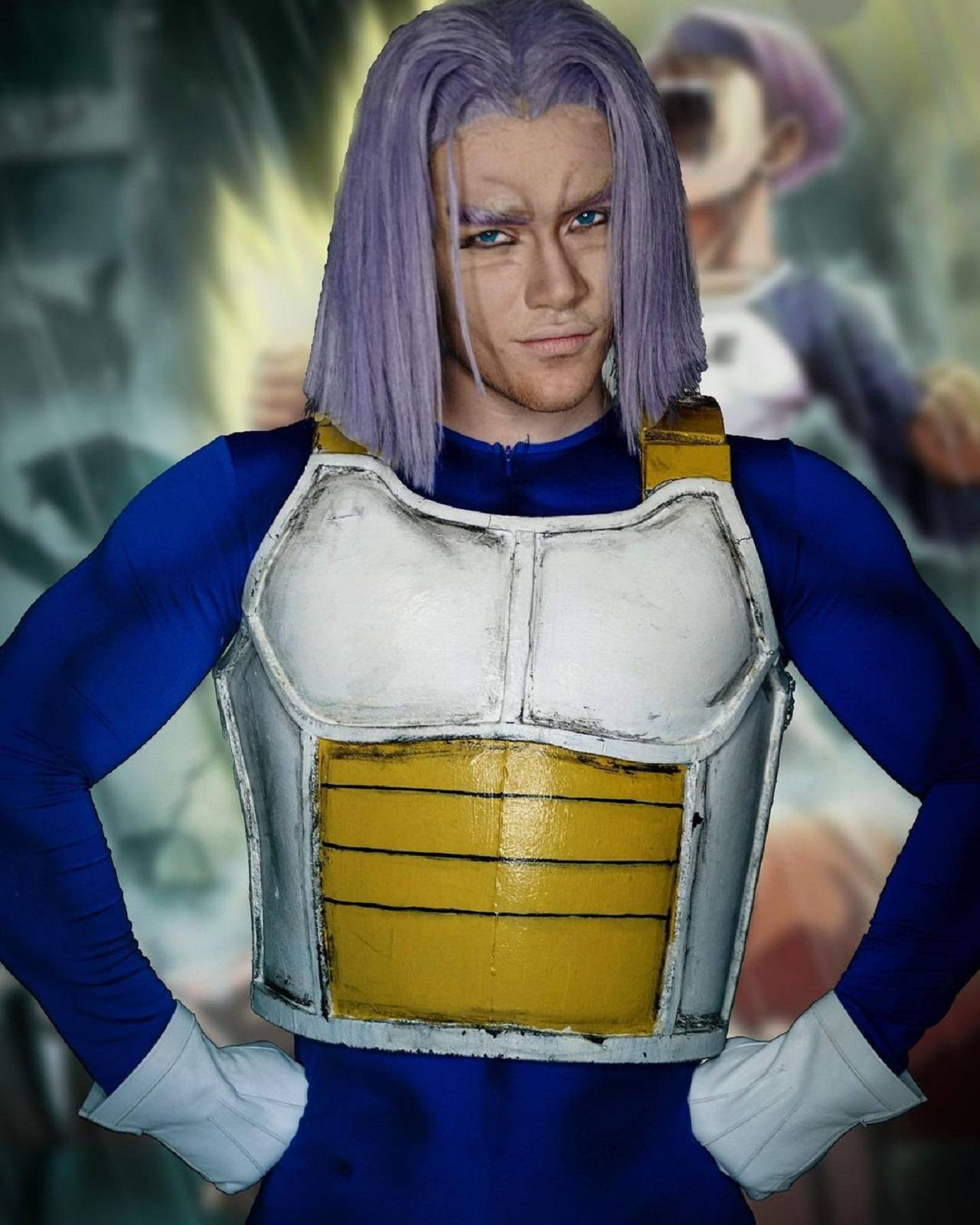 Cosplay Trunks del futuro Dragon Ball