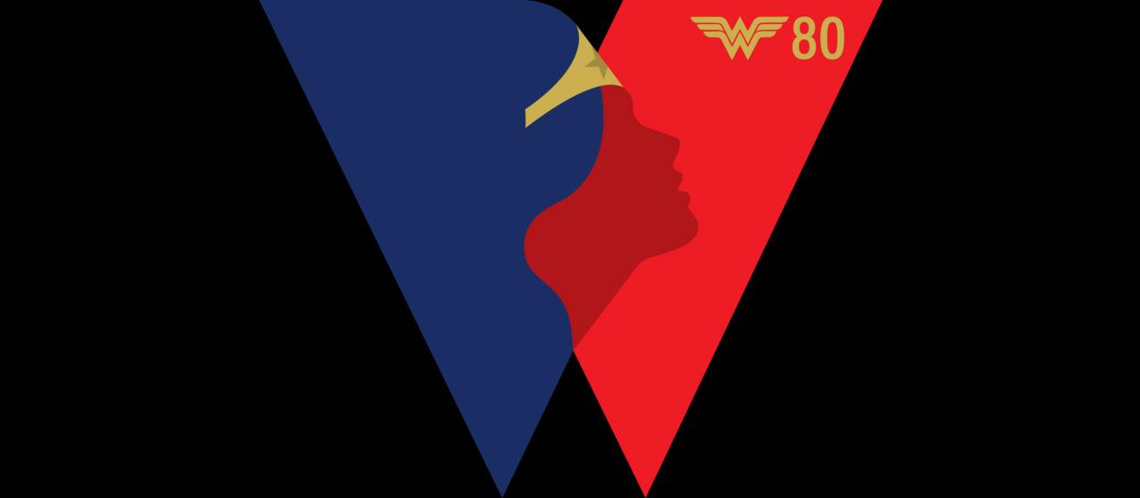 Wonder Woman Mujer Maravilla Aniversario Logo
