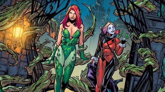 Poison Ivy y Harley Quinn