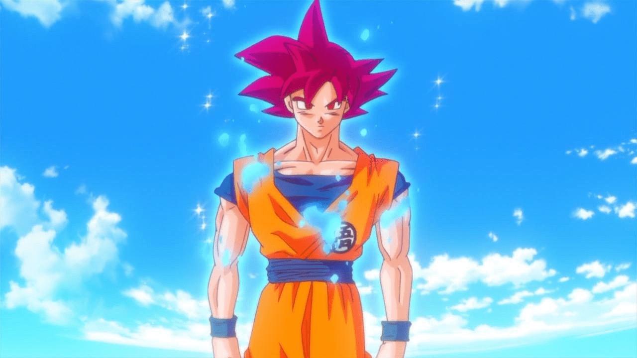 goku super saiyajin dios dragon ball