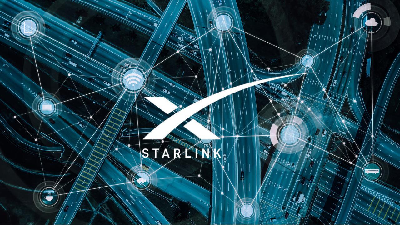 Elon Musk Internet Starlink vehículos movimiento