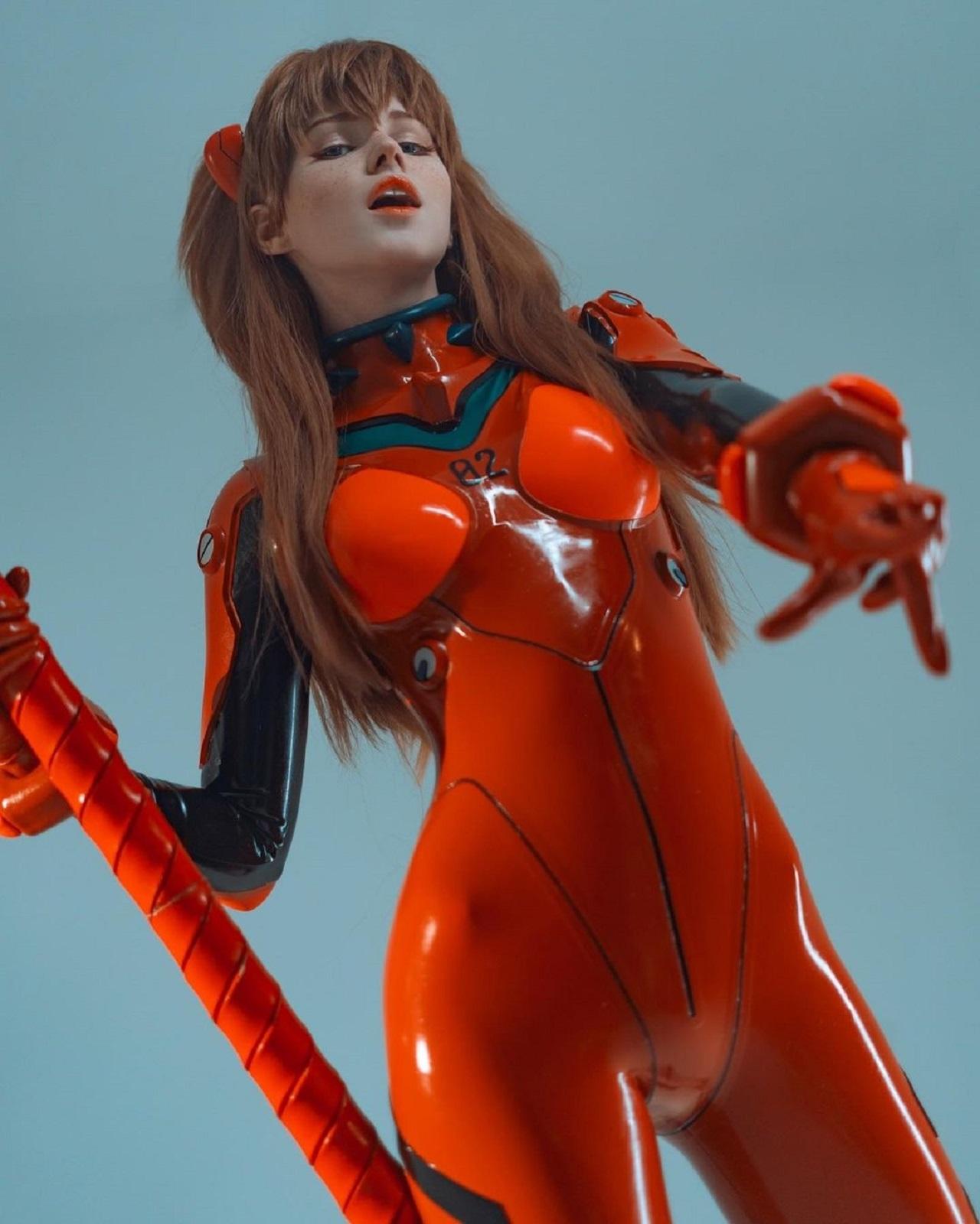 Evangelion Asuka Langley cosplay Shirogane Sama