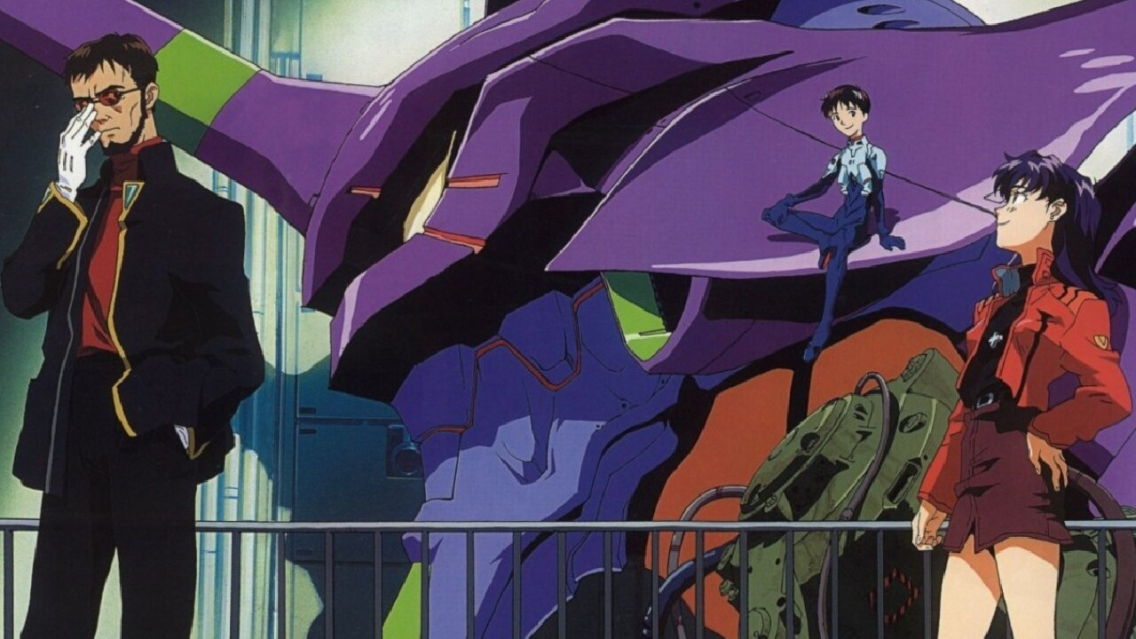 neon genesis evangelion anime orden