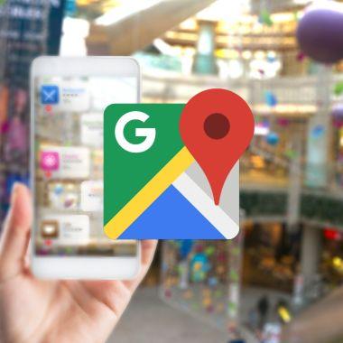Google Maps realidad aumentada navegación interiores
