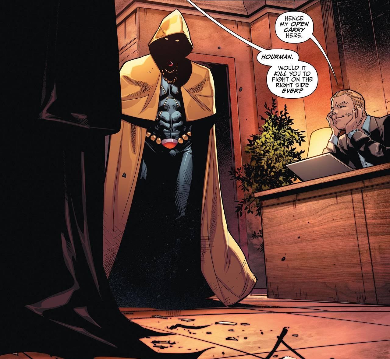 Película Hourman Edad de Oro DC Comics