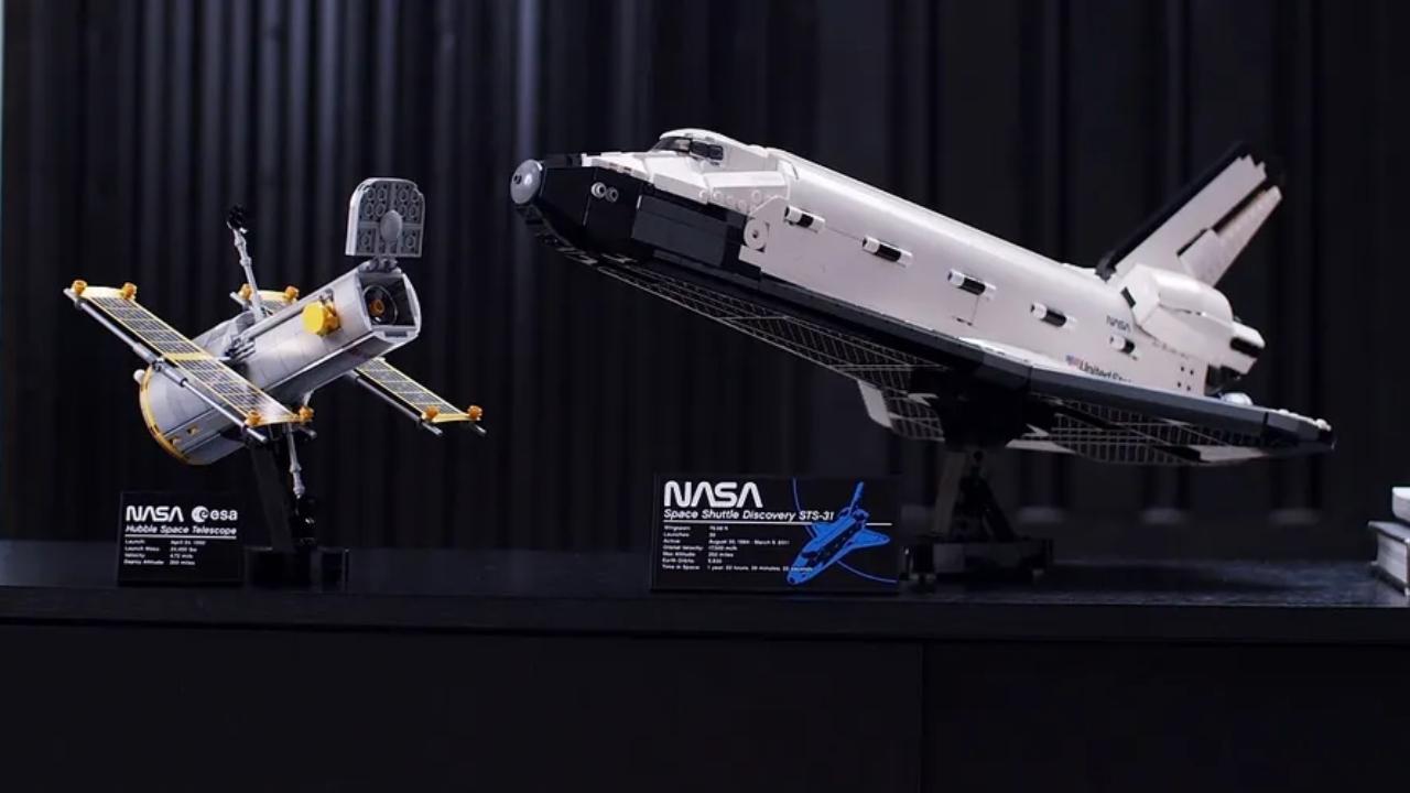 LEGO lanza set NASA Discovery