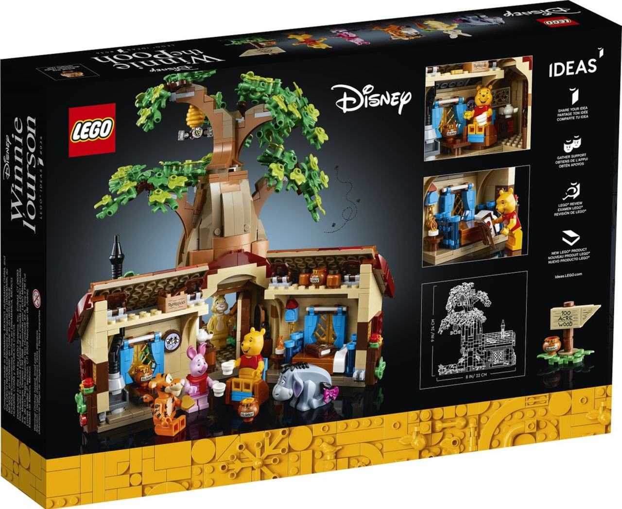 LEGO lanzará un set de Winnie Pooh para adultos