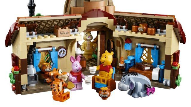 LEGO lanzará un set para adultos de Winnie Pooh