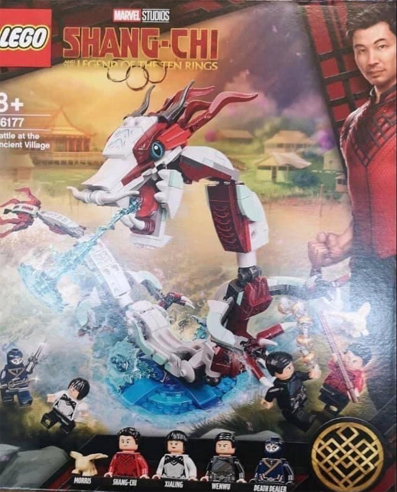 LEGO Shang-Chi Marvel FIltración personajes