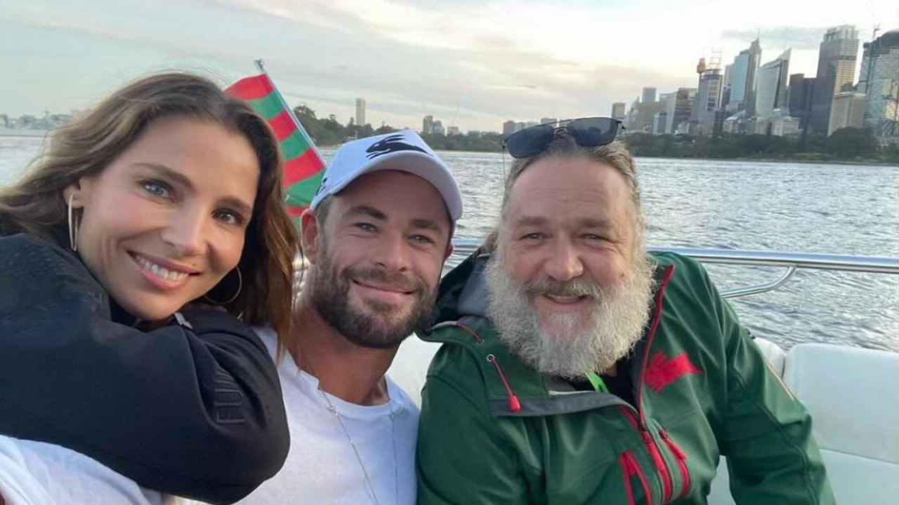 Russell Crowe elenco Thor Love and Thunder