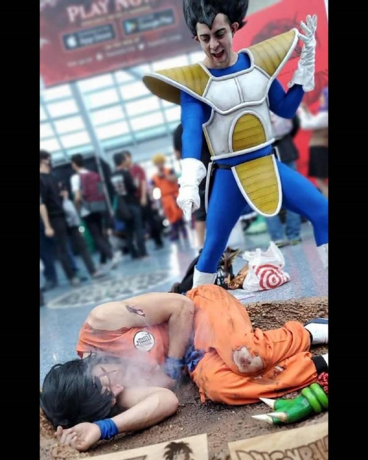 Cosplay Muerte de Yamcha Dragon Ball Anime