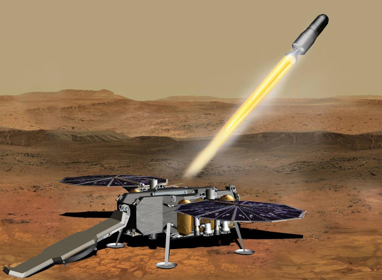 NASA invertirá más de 80 millones de dólares en traer muestras de Marte