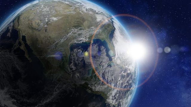 NASA desequilibrio Tierra energía actividades humanas