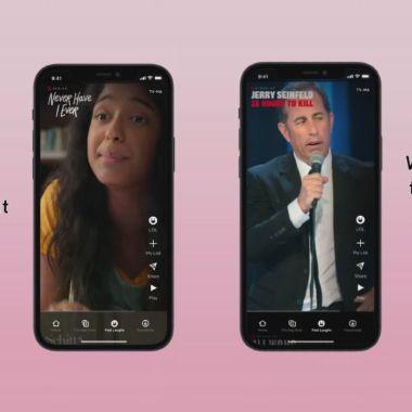 Netflix estrena función de videos cortos al estilo TikTok