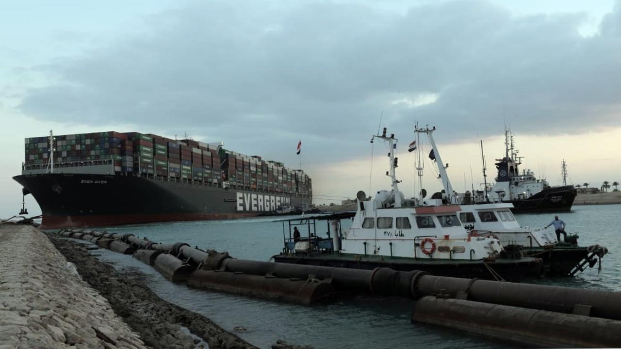 Canal de Suez desbloqueo seis días buque Ever Given