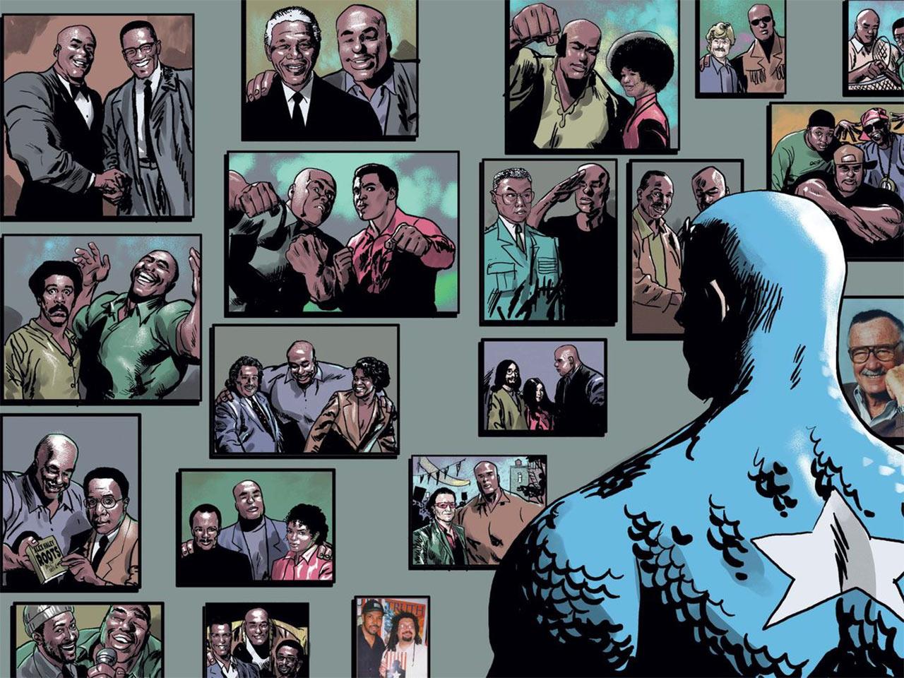 Isaiah Capitan América Super Soldado Marvel