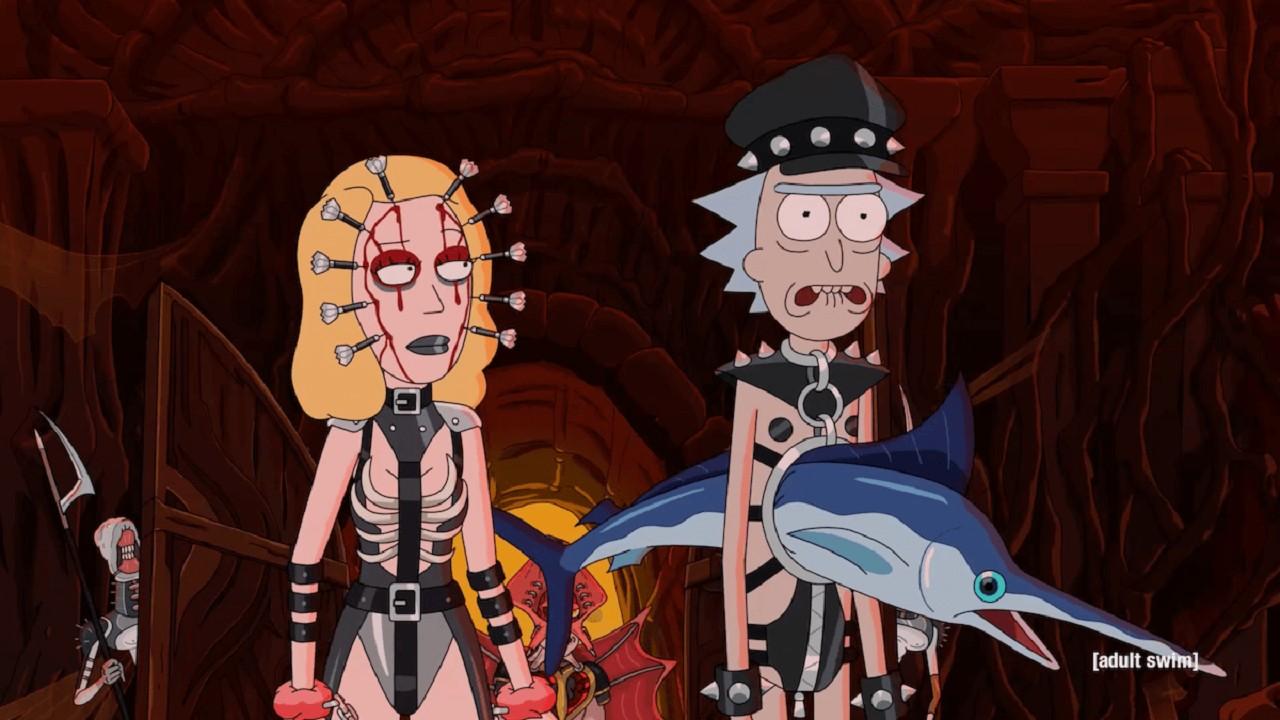 Rick and Morty Quinta Temporada Hellraiser Estreno Adult Swim