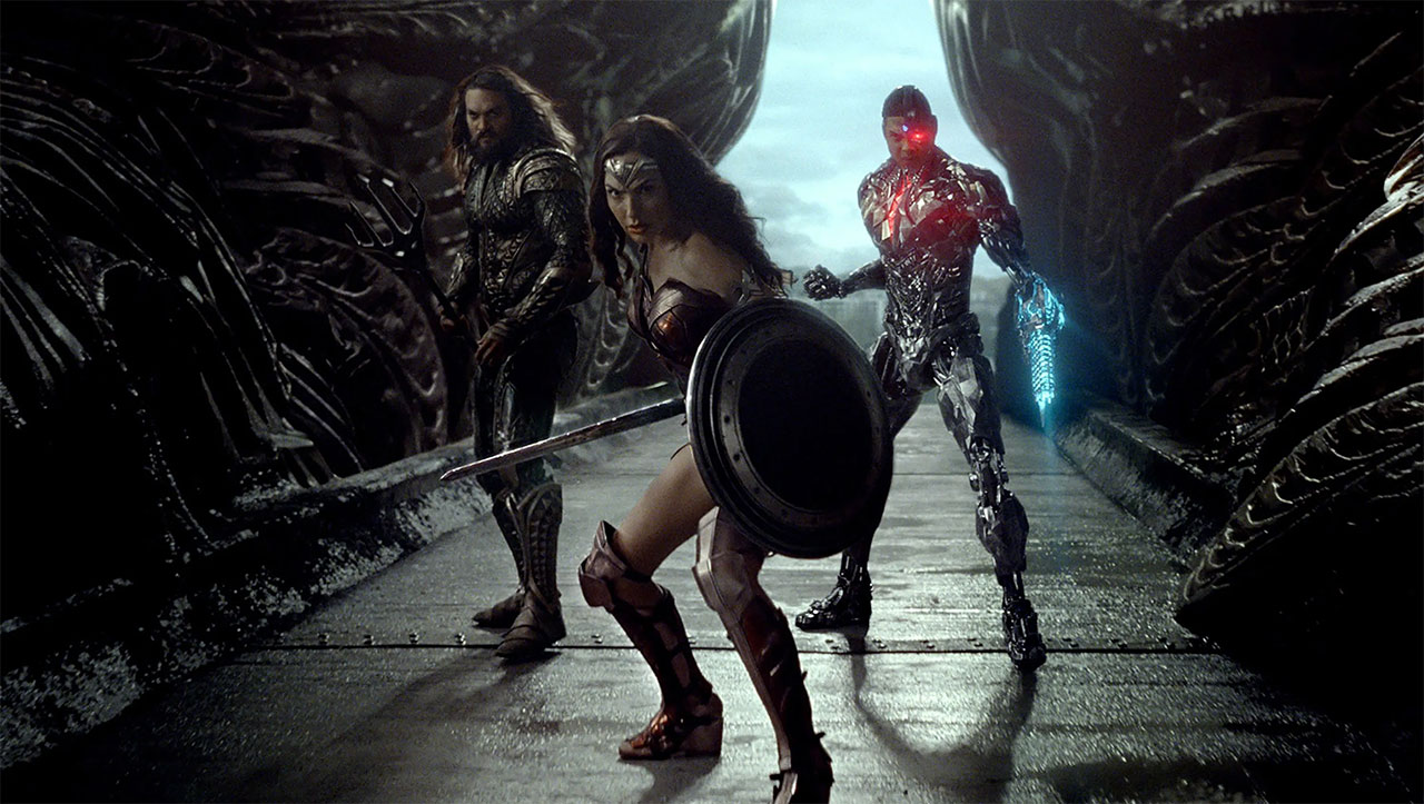 Justice League Zack Snyder Cut Reseña Wonder Woman