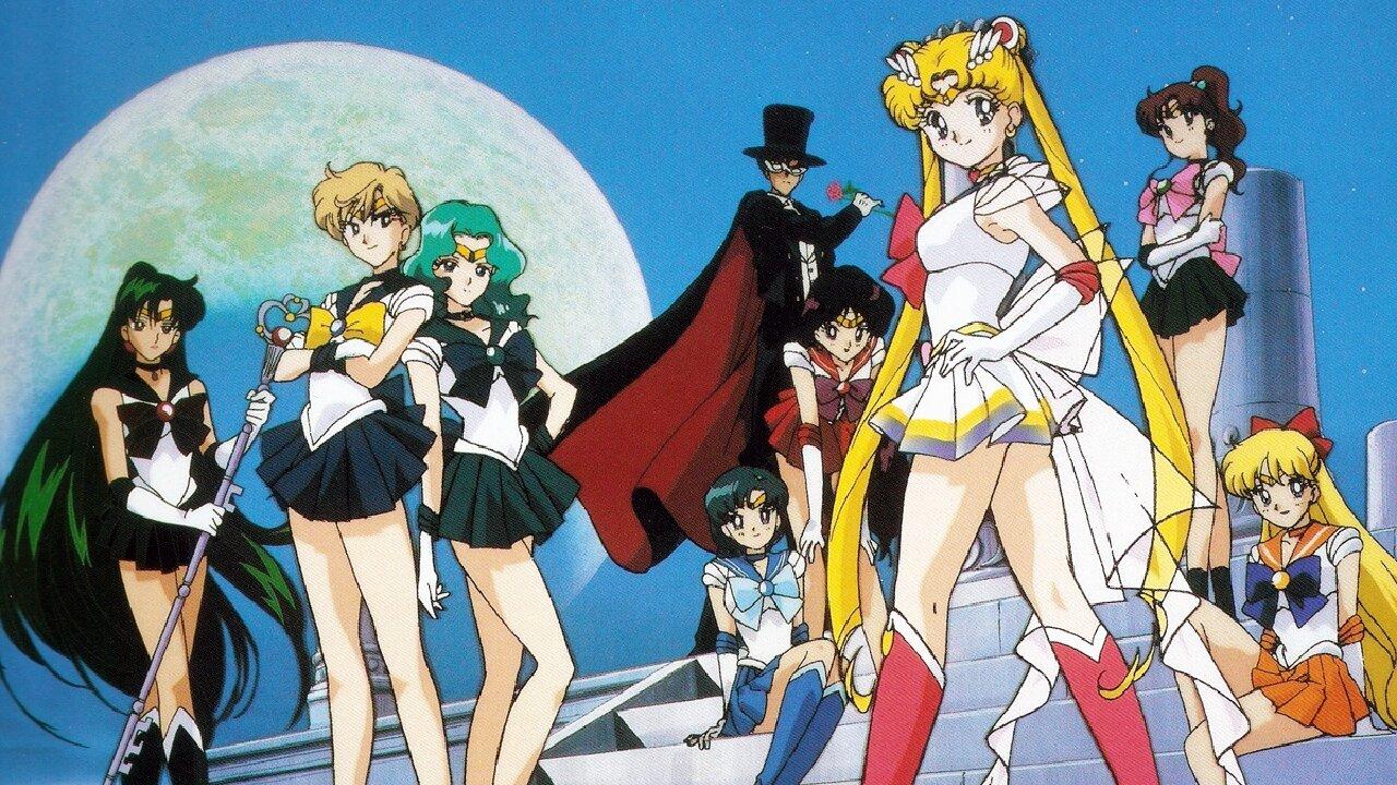sailor moon sailor scouts anime
