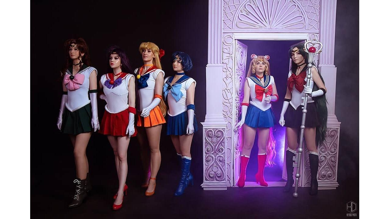 Sailor Moon: Chicas se transforman en las Sailor Scouts gracias a este increíble cosplay