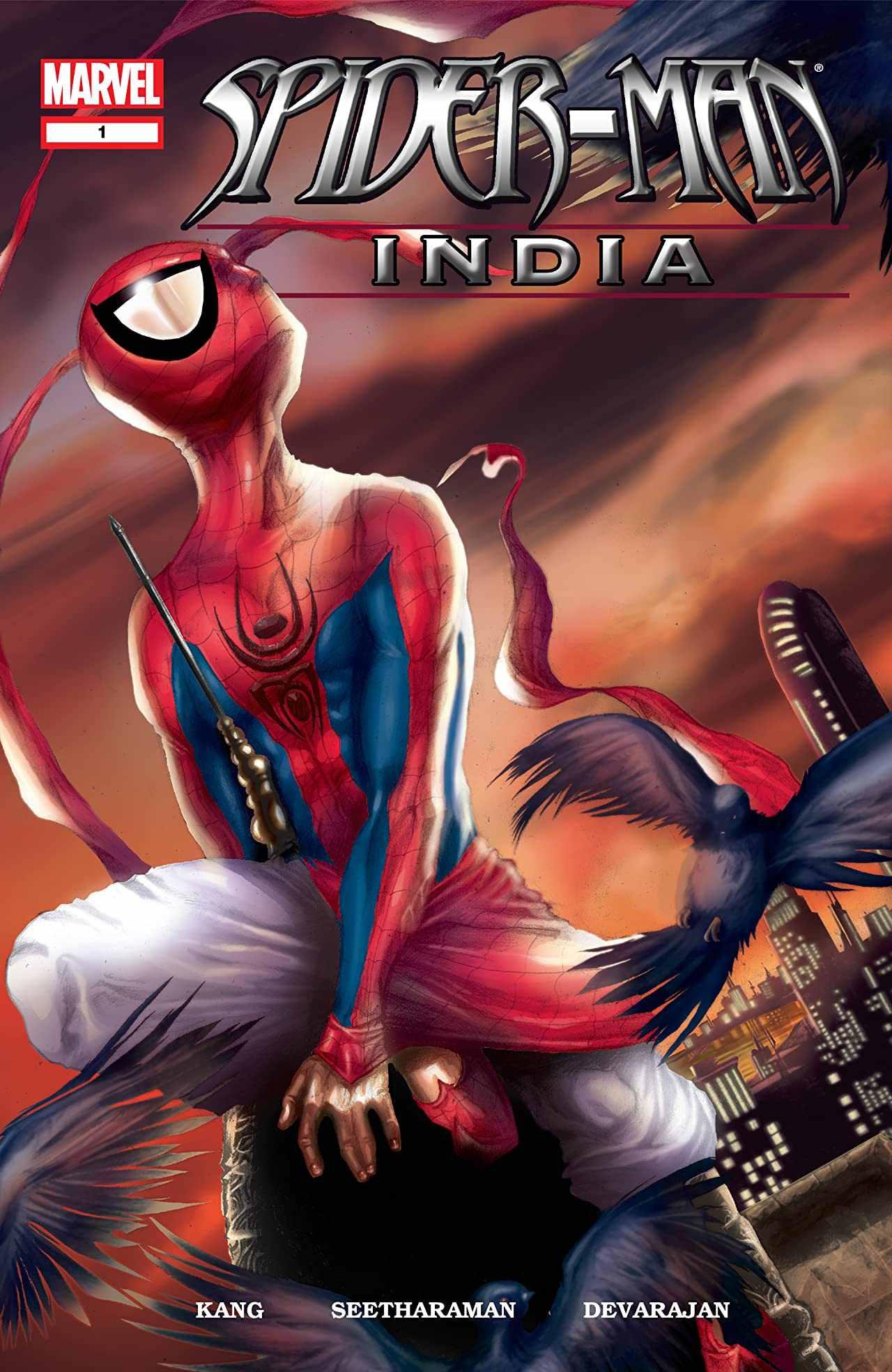 Spider-Man India Comic Multiverso Spider-Man Into the Spdier Verse 2