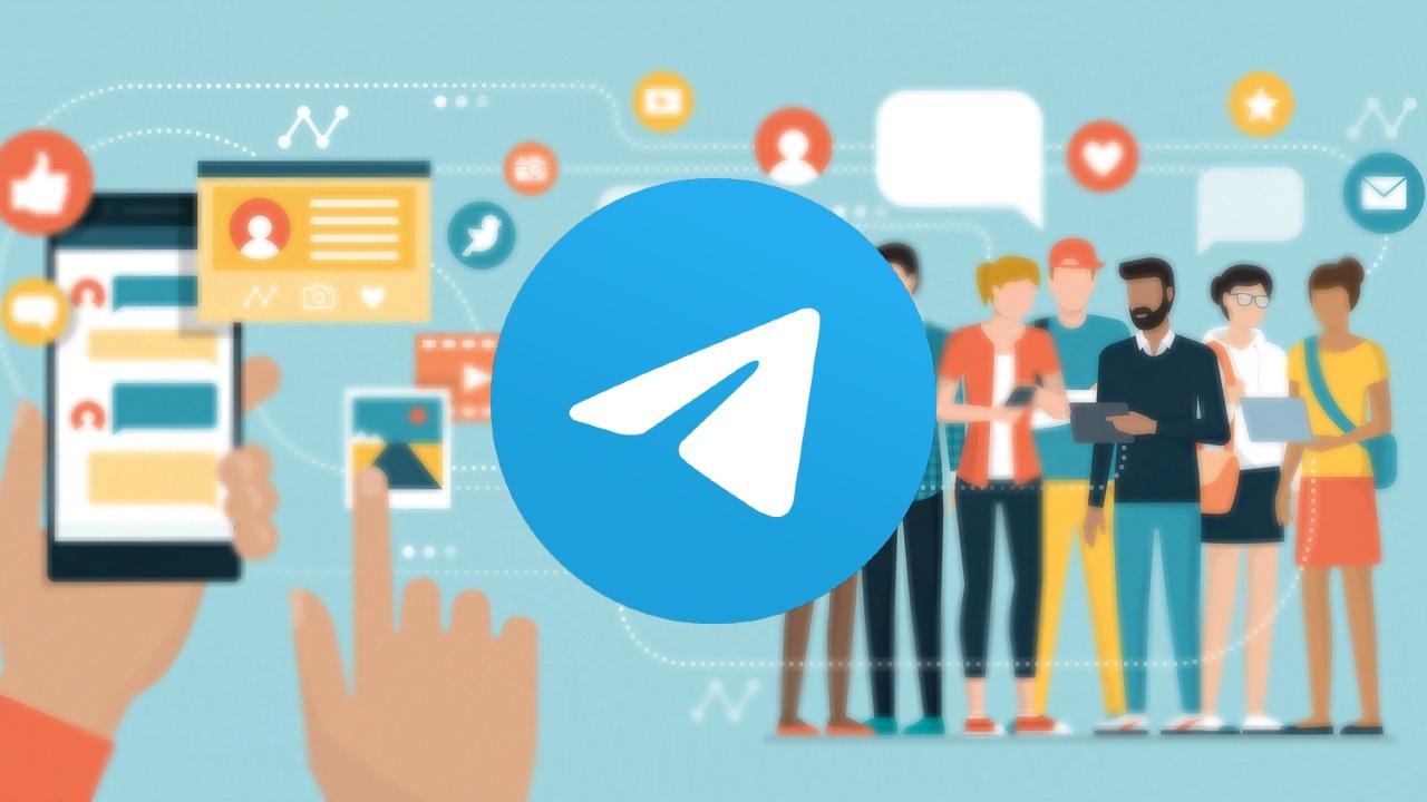Telegram chats audio actualización sin límite