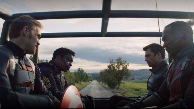 The Falcon and The Winter Soldier capítulo 2 nuevo Capitán América Bucky Sam Willson
