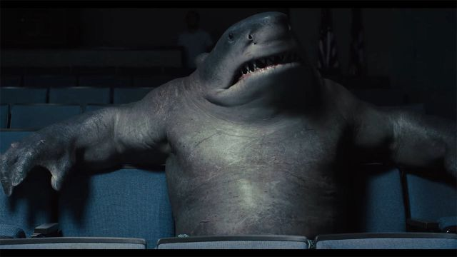 The Suicide Squad Sylvester Stallone King Shark