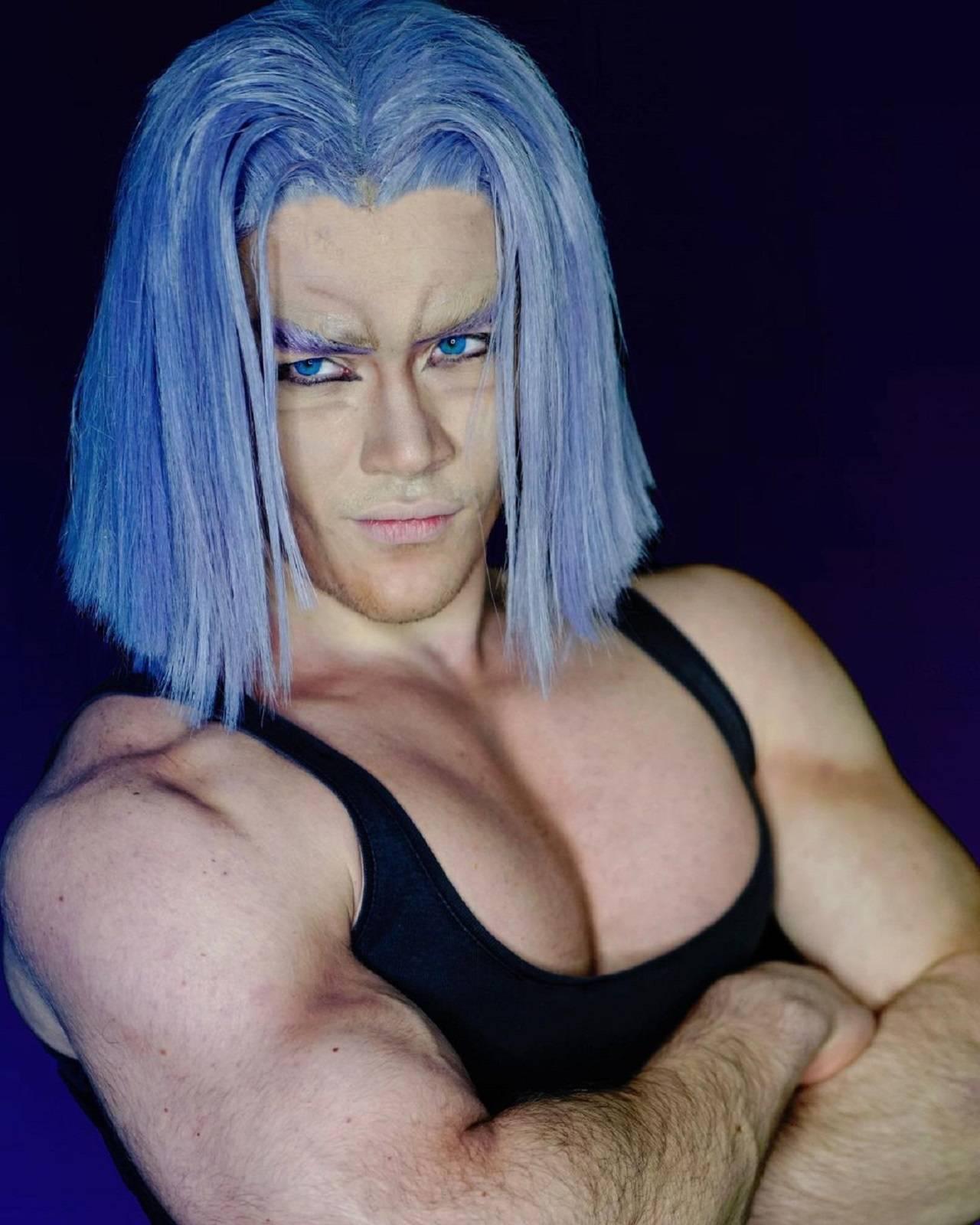 Trunks Cosplay Edoardo Volpi Dragon Ball