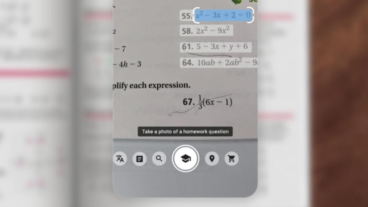 google lens resolver ecuaciones internat