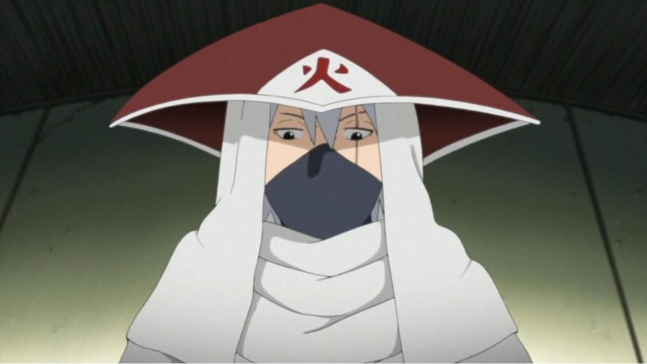 kakashi hatake sexto hokage naruto