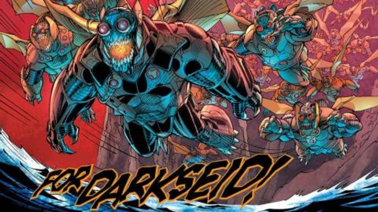 parademon dc comics ejercito darkseid