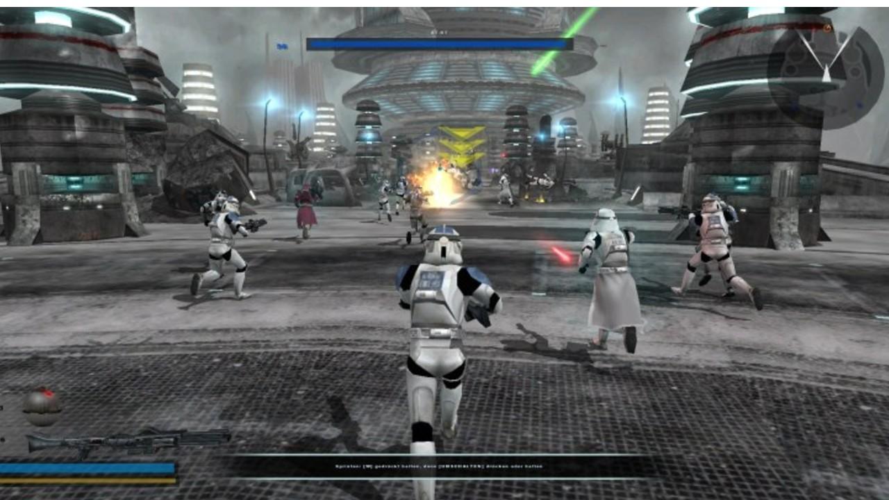 star wars battlefront 2 videojuego 2005