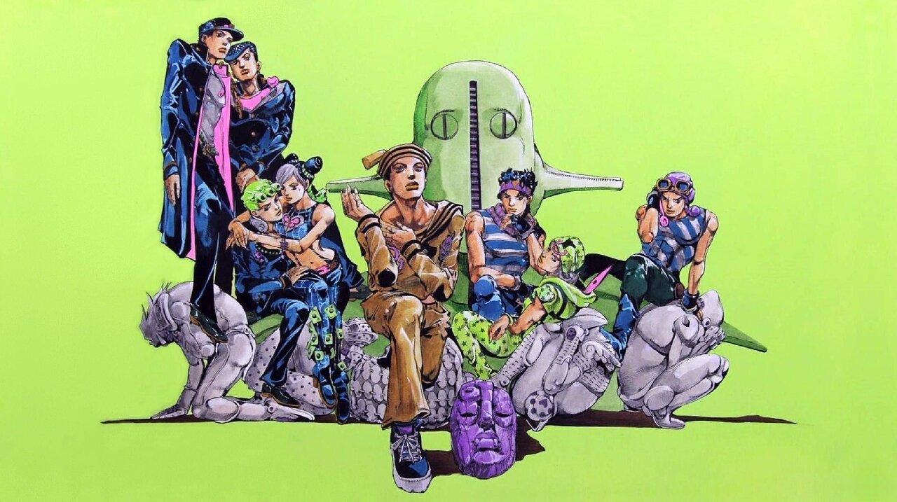 jojo's bizarre adventure personajes poderosos