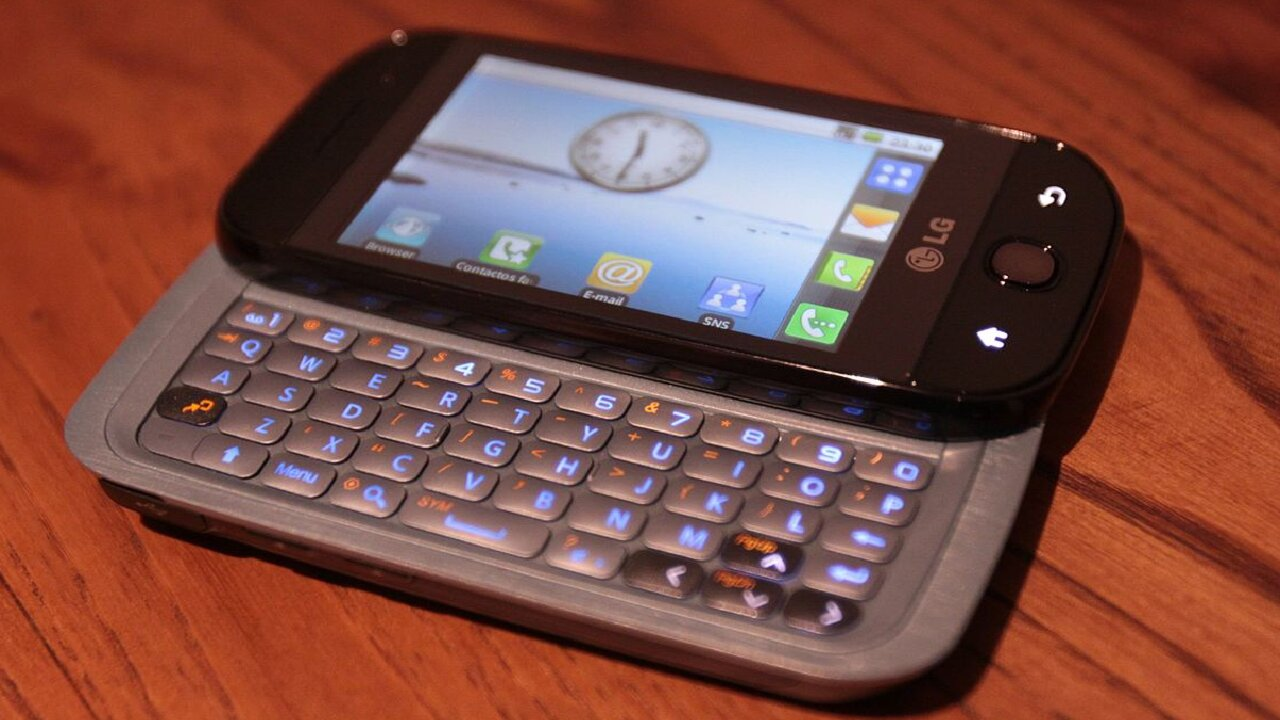 lg androide primer celular reseña