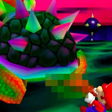 Un artista modelo el pene de Bowser y a Nintendo no le gustó.