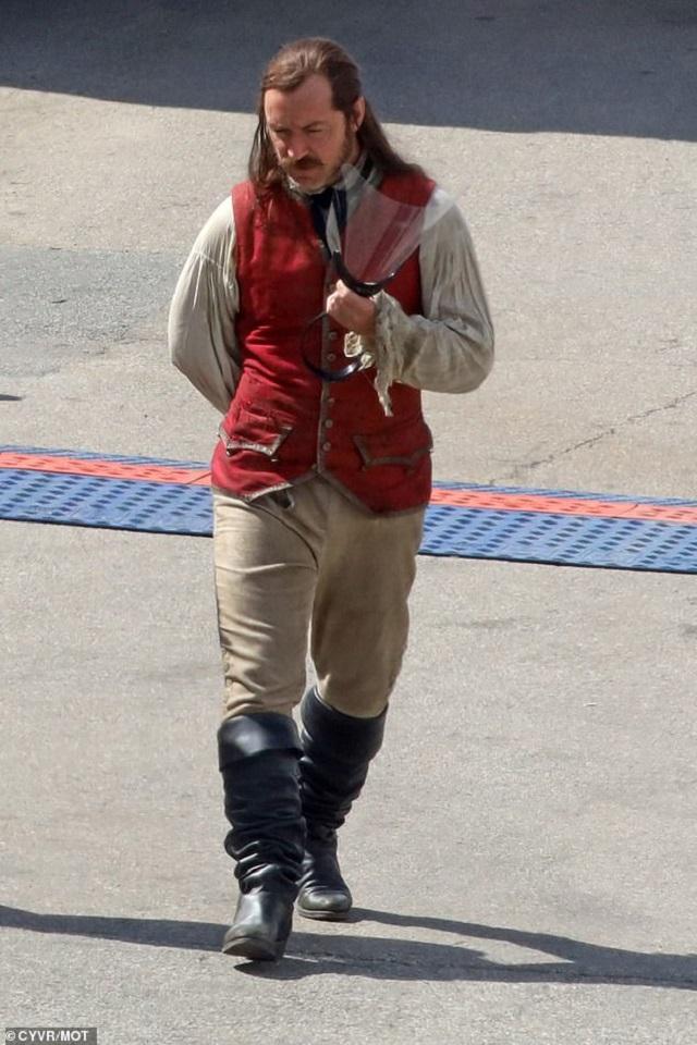 Nueva Película Peter Pan and Wendy Capitán Garfio Jude Law Disney