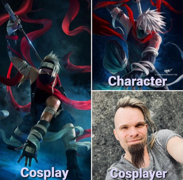 Cosplayers create a challenge to show their talent, skills and their true self