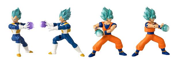 Dragon Ball Bandai juguetes Attack Collection