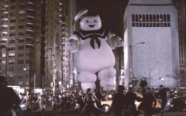 Los Cazafantasmas Ghostbusters Nueva Película El Hombre Malvavisco