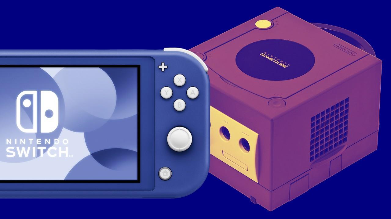 Nuevo Nintendo Switch Lite Azul Color GameCube