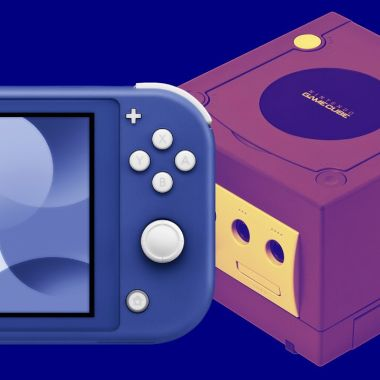 Nuevo Nintendo Switch Lite Azul Color GameCube