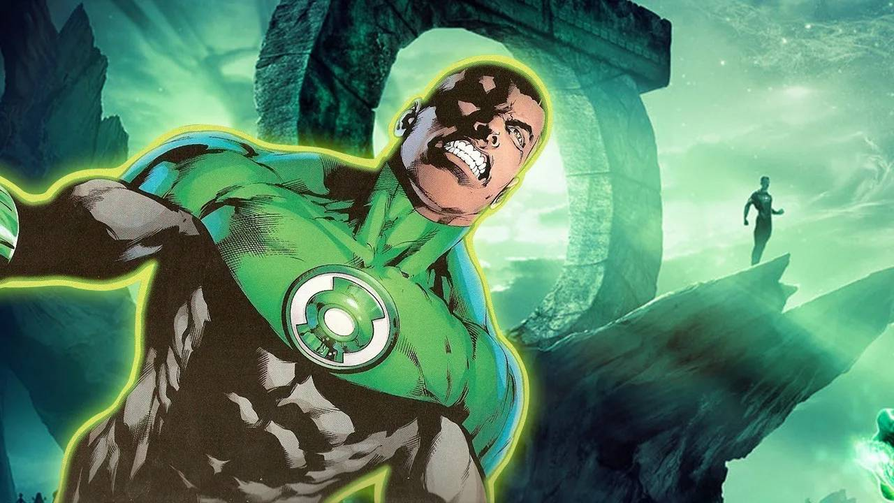 Green Lantern Jon Stewart DC Comics Justice League