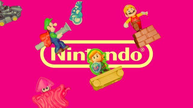 Juguetes Coleccionables Nintendo Burger King