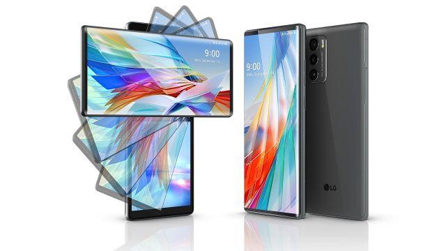 LG Teléfonos LG Wing División Telefonía LG