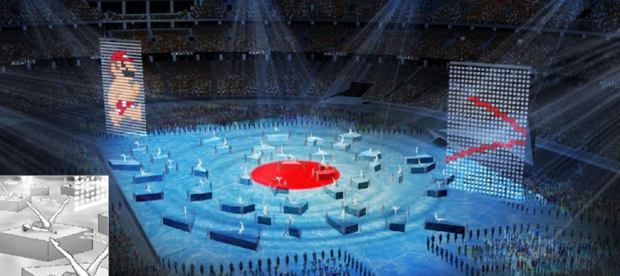 Mario Bros Ceremonio Juegos Olímpicos 2020 Tokio Nintendo