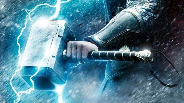 Marvel Martillo Mjölnir Thor Poder