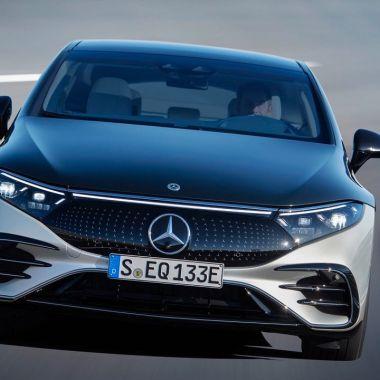 Nuevo Mercedes-Benz EQS 2022 Mercedes-Benz Autos Eléctricos