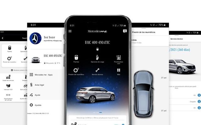 App Mercedes Me Mercedes Benz Automóviles