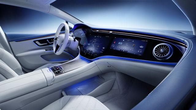 Mercedes-Benz Autos Eléctricos Mercedes-Benz EQS 2022
